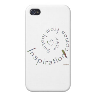 Inspiration from within iPhone 4 case