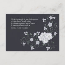 Inspiration Funeral Thank You Card