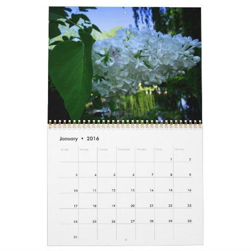 Inspiration: Giverny, home of Claude Monnet Calendar