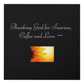 Inspiration, Happiness, Mornings Panel Wall Art