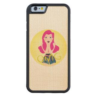 Inspiration Illustration: OMG Girl Carved® Maple iPhone 6 Bumper Case