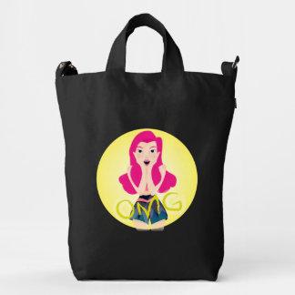 Inspiration Illustration: OMG Girl Duck Canvas Bag