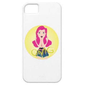 Inspiration Illustration: OMG Girl iPhone SE/5/5s Case