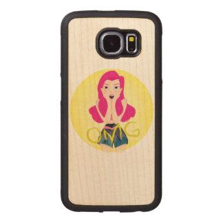 Inspiration Illustration: OMG Girl Wood Phone Case