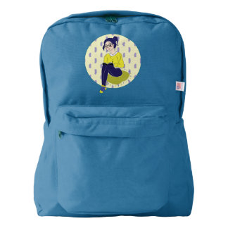 Inspiration Illustration: Reading and Writing American Apparel™ Backpack