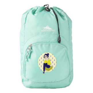 Inspiration Illustration: Reading and Writing Backpack