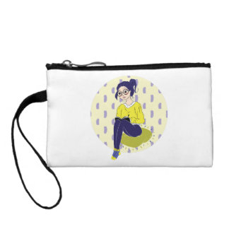 Inspiration Illustration: Reading and Writing Coin Purse