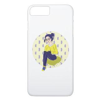 Inspiration Illustration: Reading and Writing iPhone 7 Plus Case