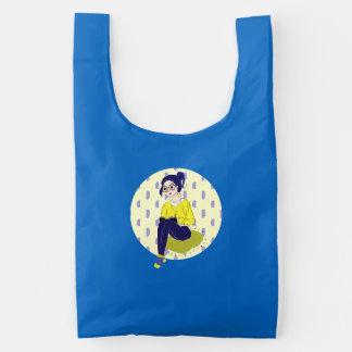 Inspiration Illustration: Reading and Writing Reusable Bag