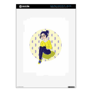 Inspiration Illustration: Reading and Writing Skins For iPad 3