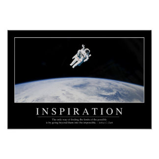 Inspiration: Inspirational Quote Poster
