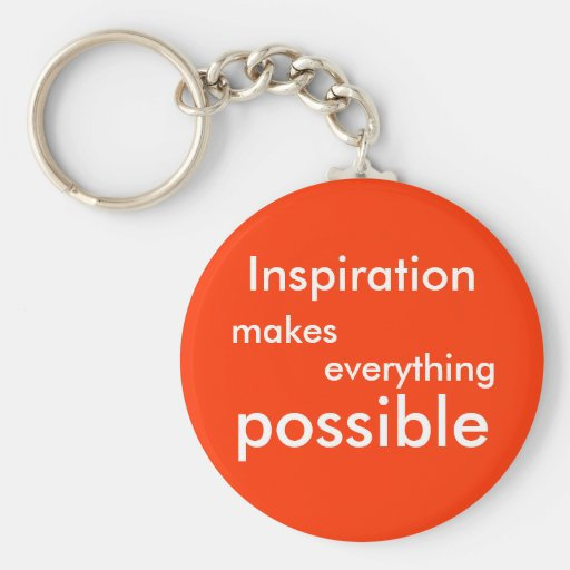 Inspiration Keychain