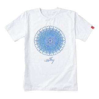 "Inspiration Mandala - ""Joy"" with Text Zazzle HEART T-Shirt"