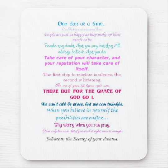 Inspiration Mouse Pad