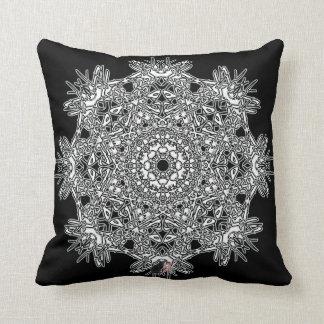 Inspiration Octa Glyph Throw Pillow