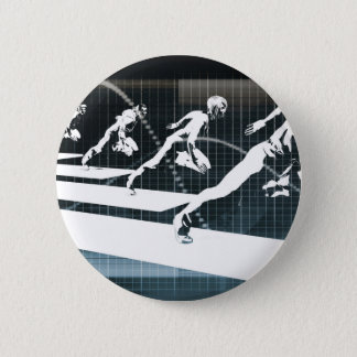 Inspiration or Inspirational Ideas as a Business Pinback Button