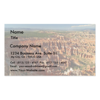 Inspiration Point At Bryce Canyon Double-Sided Standard Business Cards (Pack Of 100)