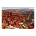 Inspiration Point at Bryce Canyon I Poster
