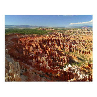 Inspiration Point at Bryce Canyon, Utah Postcard