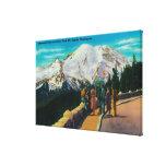Inspiration Point at Sunrise Park Stretched Canvas Prints