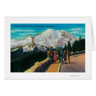 Inspiration Point at Sunrise Park Card
