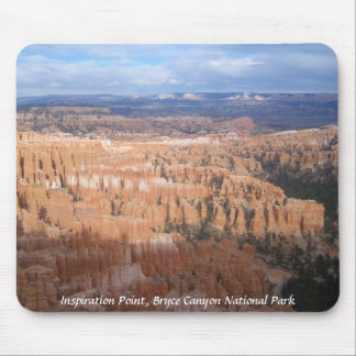 Inspiration Point, Bryce Canyon National Park Mouse Pad