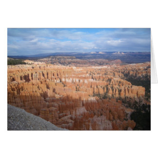 Inspiration Point, Bryce Canyon, Utah Card