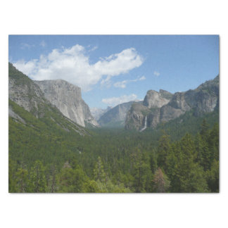 """Inspiration Point in Yosemite National Park 15"""" X 20"""" Tissue Paper"""