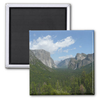 Inspiration Point in Yosemite National Park 2 Inch Square Magnet