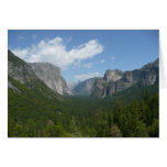 Inspiration Point in Yosemite National Park Card