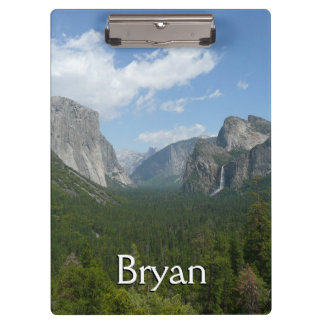Inspiration Point in Yosemite National Park Clipboard