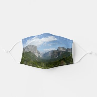 Inspiration Point in Yosemite National Park Cloth Face Mask