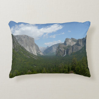Inspiration Point in Yosemite National Park Decorative Pillow