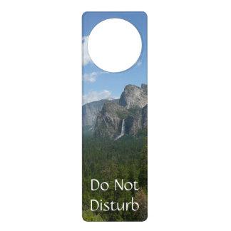 Inspiration Point in Yosemite National Park Door Hanger