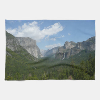 Inspiration Point in Yosemite National Park Hand Towel
