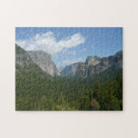 Inspiration Point in Yosemite National Park Jigsaw Puzzle