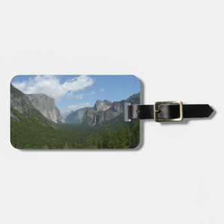 Inspiration Point in Yosemite National Park Travel Bag Tags