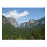 Inspiration Point in Yosemite National Park Photo Print