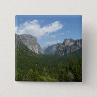 Inspiration Point in Yosemite National Park Pinback Button