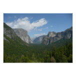 Inspiration Point in Yosemite National Park Poster