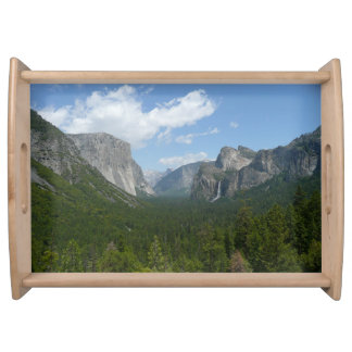 Inspiration Point in Yosemite National Park Serving Tray
