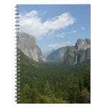 Inspiration Point in Yosemite National Park Spiral Notebook