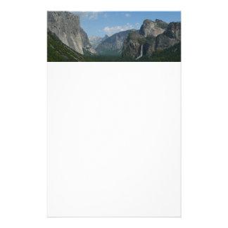 Inspiration Point in Yosemite National Park Stationery