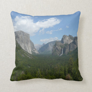 Inspiration Point in Yosemite National Park Throw Pillow