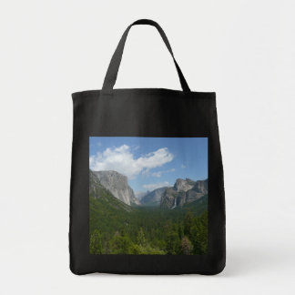 Inspiration Point in Yosemite National Park Tote Bag