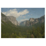 Inspiration Point in Yosemite National Park Wood Poster