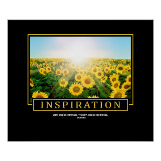 Inspiration Quote Poster