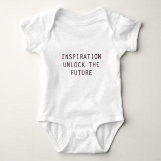 Inspiration unlocks the future baby bodysuit