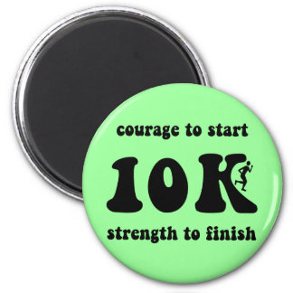 Inspirational 10K 2 Inch Round Magnet