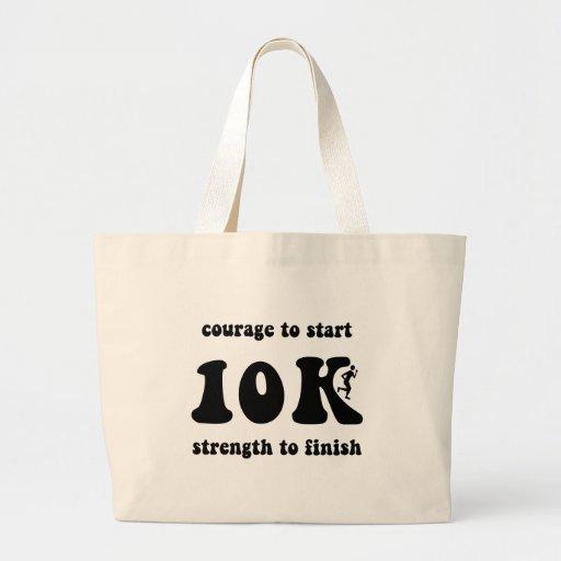 Inspirational 10K Jumbo Tote Bag
